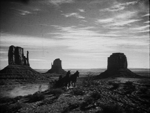 Monument Valley and John Ford.  A marriage made in movie heaven.