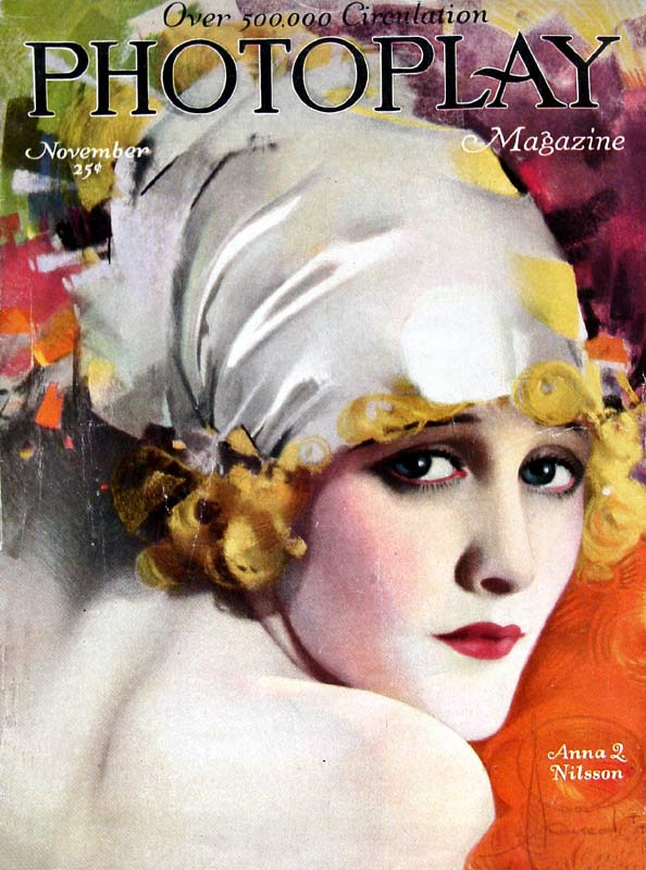 Anna Q Nilsson, by Rolf Armstrong