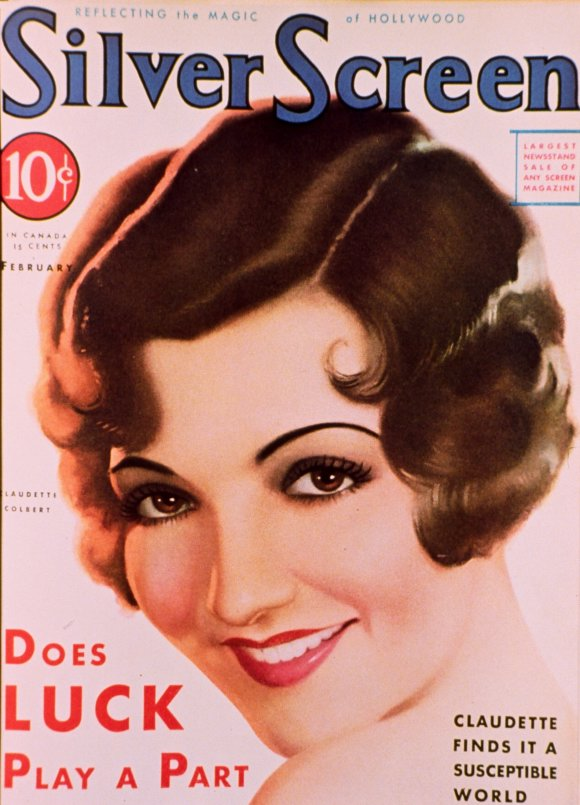 Claudette Colbert, unknown artist