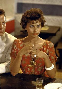 Sophia Loren in Legend of the Lost, 1957