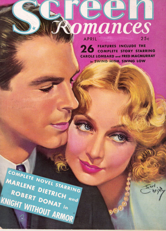 Carole Lombard & Fred MacMurray, by Earl Christy