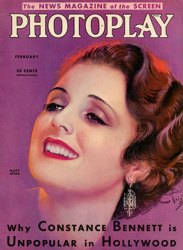 Mary Astor, by Earl Christy
