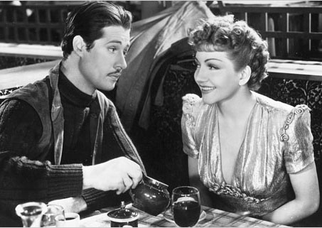 Claudette Colbert & Don Ameche, Midnight