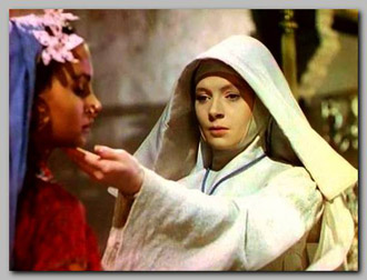 Debroah Kerr and Jean Simmons in Black Narcissus
