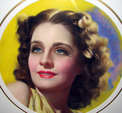Norma Shearer, by Marland Stone
