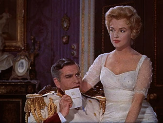 Marilyn Monroe & Laurence Olivier in The Princess and the Showgirl