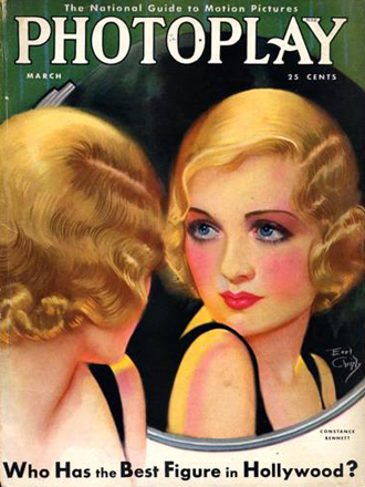 Constance Bennett, by Earl Christy