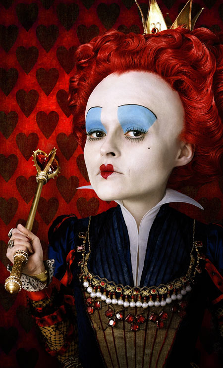 Helena Bonham Carter - The Red Queen (Photograph: Disney)