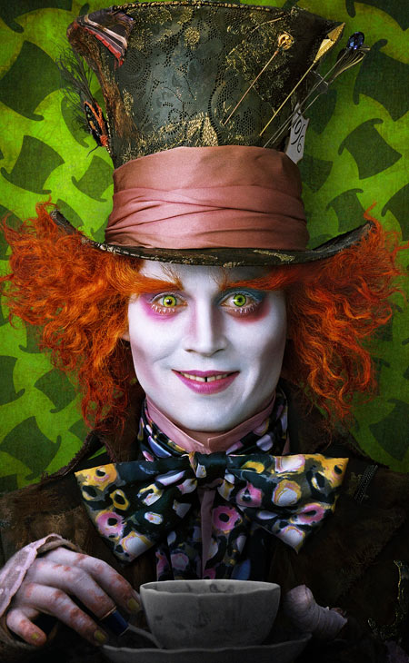 Johnny Depp - The Mad Hatter (Photograph: Disney)