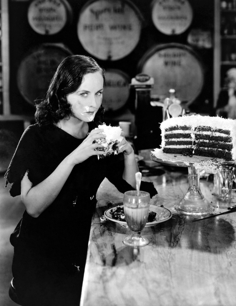 Charlie's gamine in Modern Times (and common-law wife), Paulette Goddard.