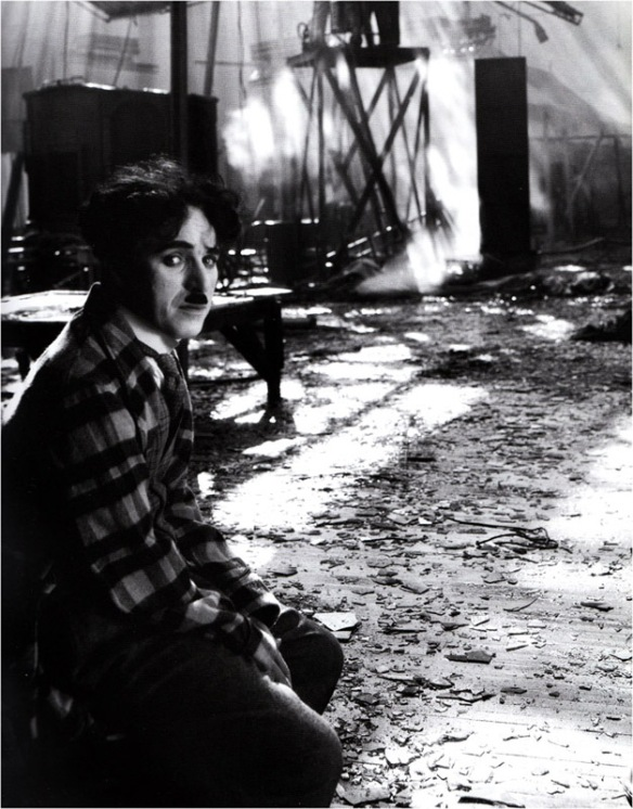 A devastated Chaplin after a fire destroyed The Circus set. A laboratory error would later destroy key prints to the film. It is indeed a wonder the film was ever made at all.
