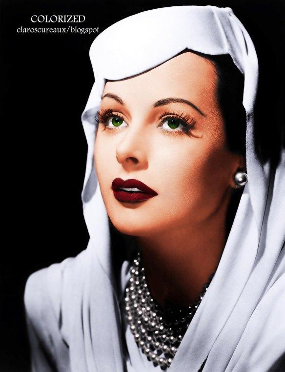 Hedy Lamarr - © Claroscureaux