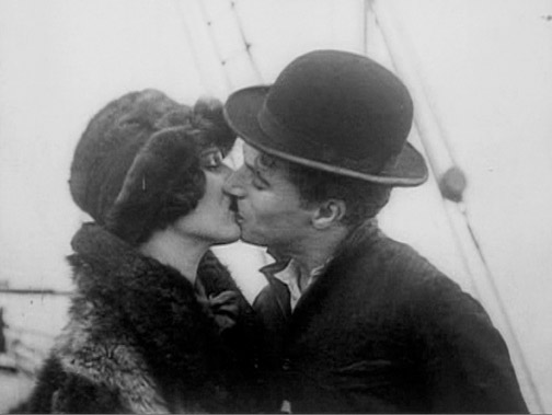 The original 1925 ending-- axed in Chaplin's 1942 re-release.