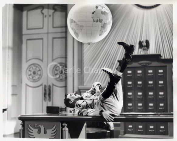 The Great Dictator's globe ballet