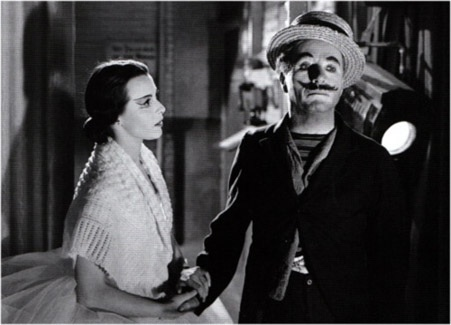 Claire Bloom with Chaplin, Limelight