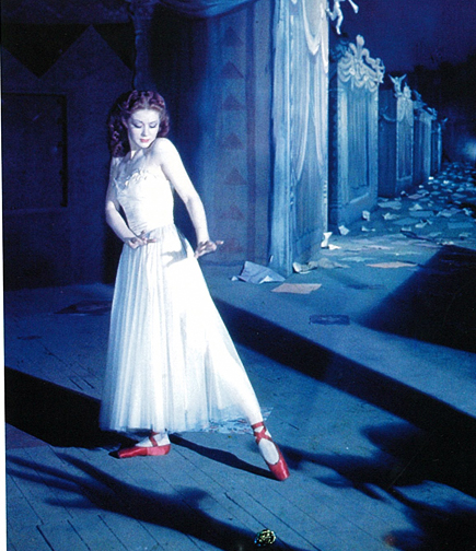 Moira Shearer in The Red Shoes, 1948