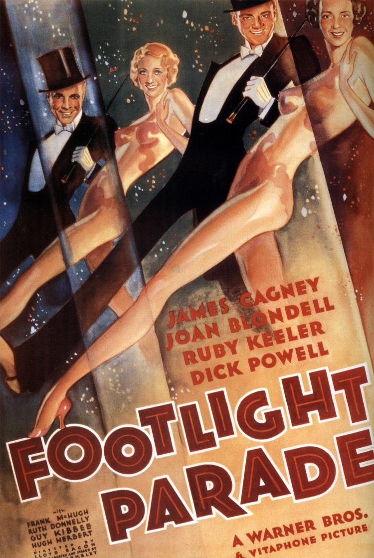 Footlight Parade, 1933. Directed by Lloyd Bacon.