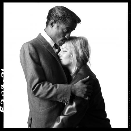 Sammy Davis Jr. & May Britt, 1960