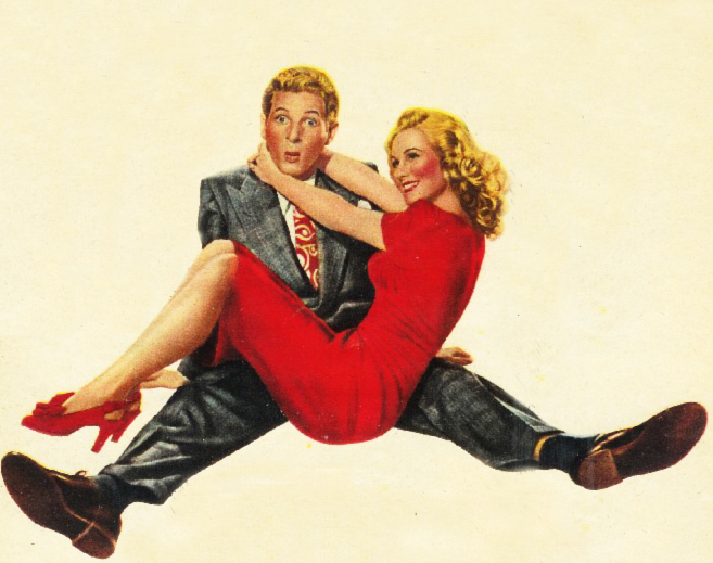 Danny & Virginia - 1945 poster art