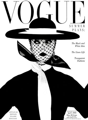 April 1950 Cover, Vogue