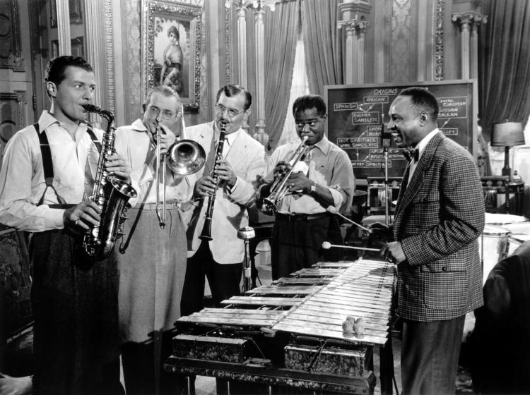 Charlie Barnett, Tommy Dorsey, Benny Goodman, Louis Armstong & Lionel Hampton