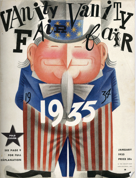 January 1935 cover