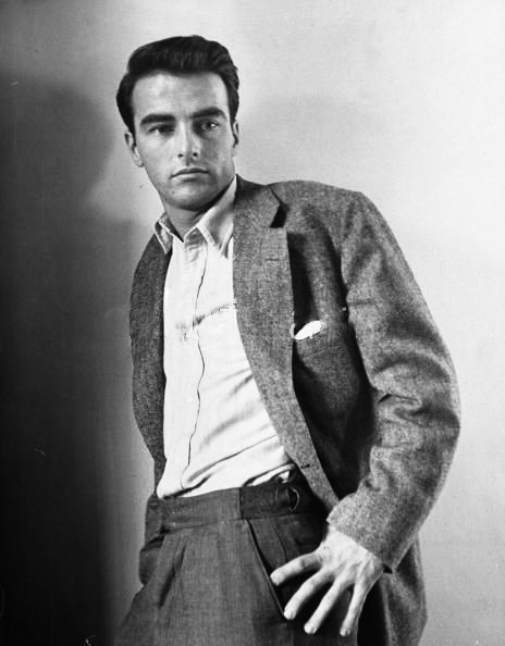 Montgomery Clift portrait in the 1940s