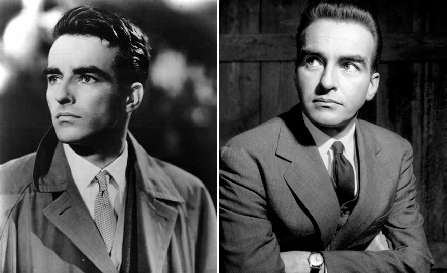 Montgomery Clift, antes y después del accidente de coche