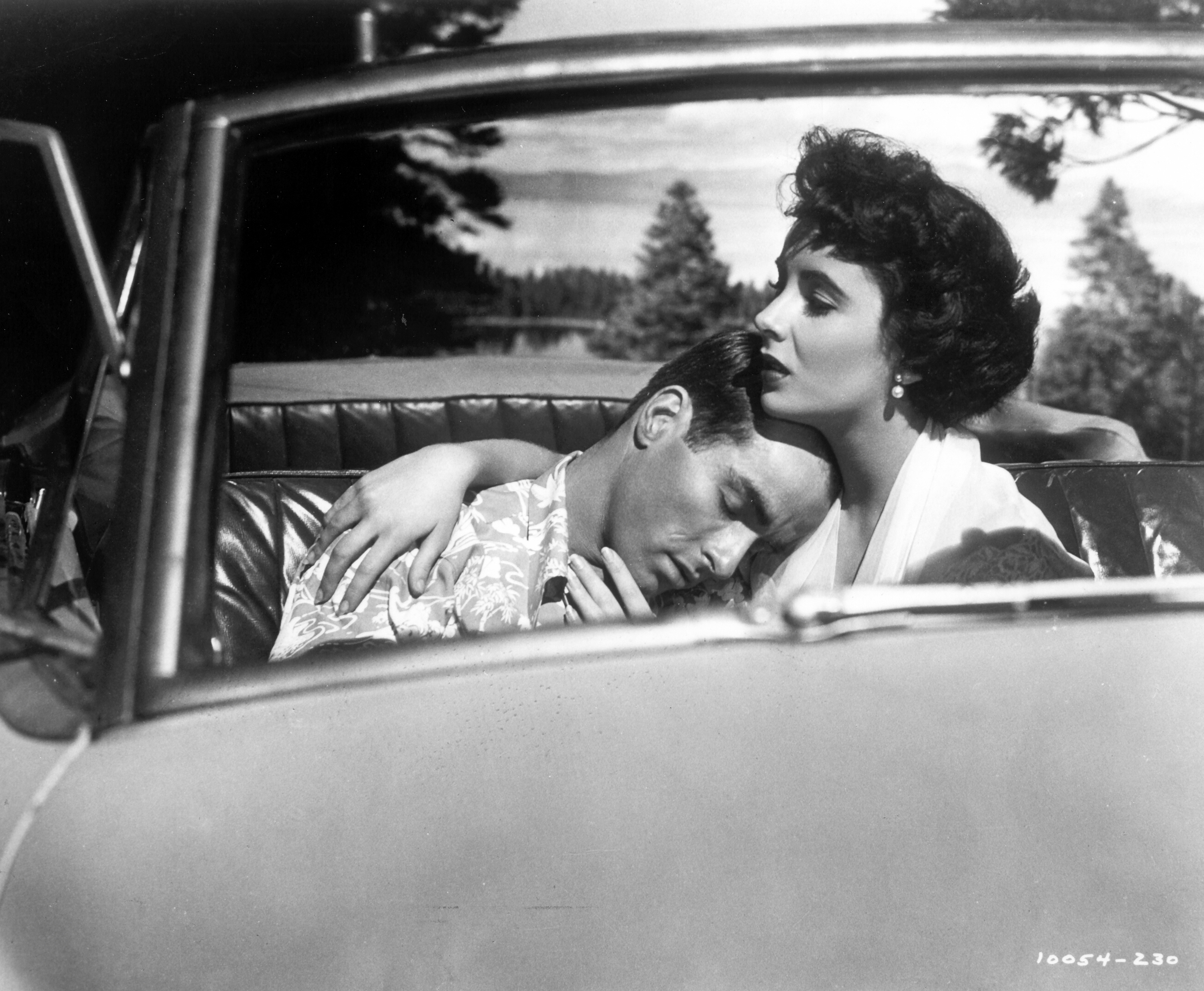 Montgomery Clift and Elizabeth Taylor in A PLACE IN THE SUN