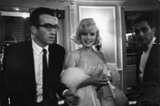 Montgomery Clift with Marilyn Monroe