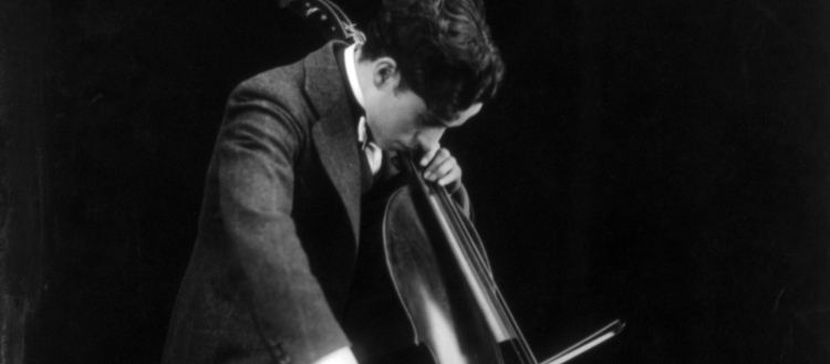 Charlie Chaplin and Cello
